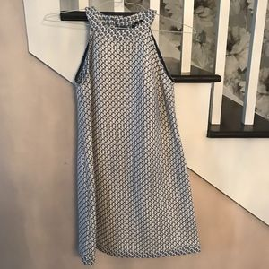 Stile Benetton Blue + White Pattern Dress